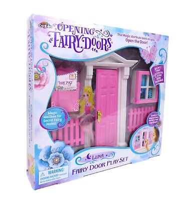 Pink OPENING FAIRY DOOR 12 Piece Matching Set - End of Line SALE - FREE SHIPPING