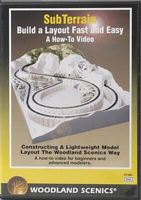 Woodland Scenics Subterrain How To DVD st1400