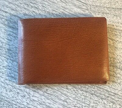 Mint Condition Vintage Buxton Statesman Buffalo Calf Hide Bi-fold Wallet
