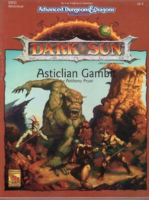 AD&D Dark Sun *Asticlian Gambit* Box-Set wieNEU & Original