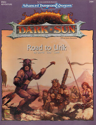 AD&D Dark Sun *Road to Urik* Box-Set wieNEU & Original