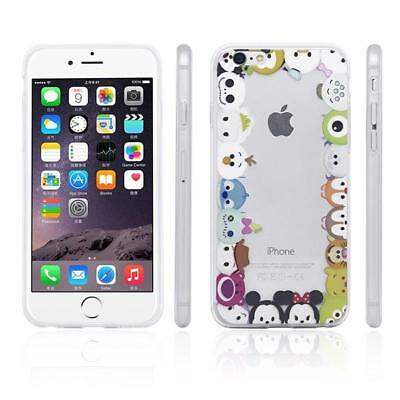iProtect Soft Silicone Case Apple iPhone 6 6s Cartoon Funny Friends
