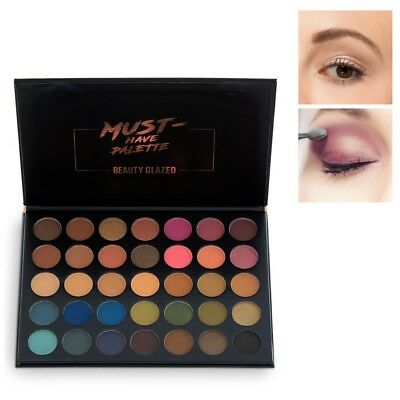 Pro Makeup 35 Colors Palette Beauty Shimmer Cosmetics Eyeshadow Matte Eye Shadow