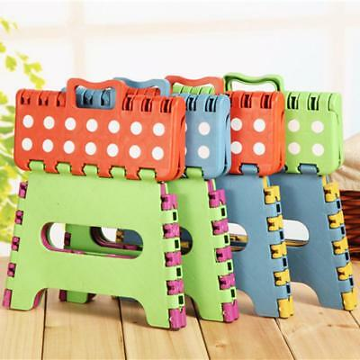 24*20*18cm Folding Step Stool Portable Plastic Foldable Chair Store Flat Outdoor