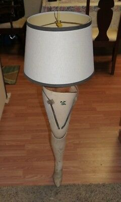 "Antique Vintage 31"" Ladies Jointed Prosthetic Artifical Leg Christmas Story"