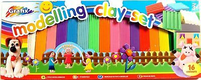 Coloured Plasticine Coloured Non Toxic Clay Non Hardening Modelling Clay Set New