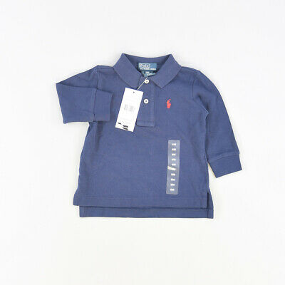 Polo color Azul marca Polo Ralph Lauren 9 Meses  507092