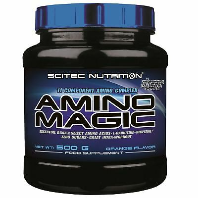 Scitec Nutrition - Amino Magic - 500 g aminoacidi essenziali bcaa in polvere