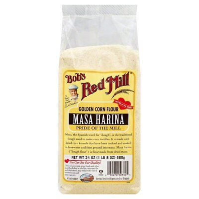 BOBS RED MILL, FLOUR MASA CORN, 24 OZ, (Pack of 4)