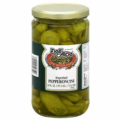 DELL ALPE, PEPPERONCINI, 12 OZ, (Pack of 12)