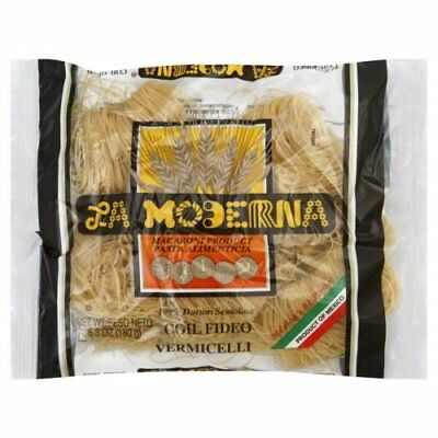 la moderna pasta vermicelli coiled 7 oz pack of 20