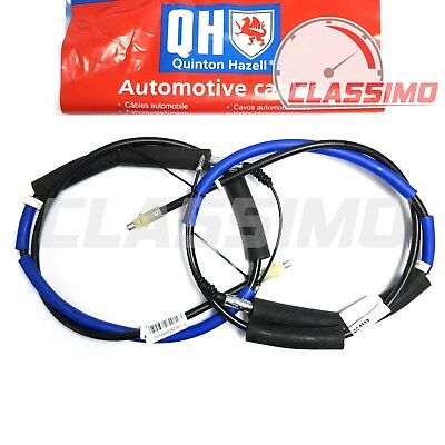 Rear Handbrake Cable Pair for JAGUAR X-TYPE - up to Chassis number C20145