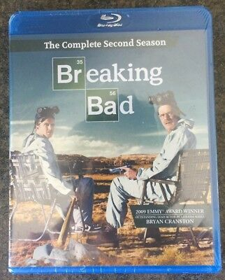 ** Breaking Bad: The Complete 2nd Season, Blu-ray, brand new, factory sealed!