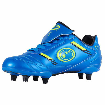 Optimum Rugby & Football Boots Blue/Green Junior sizes 12 - 5