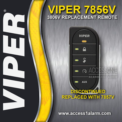 Viper 7856V LED 2-Way Remote Control Upgraded to New Rechargeable Battery 7857V