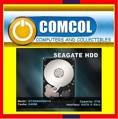 Seagate SATA 3 HDD Upgrade Option ONLY 1TB to 2TB