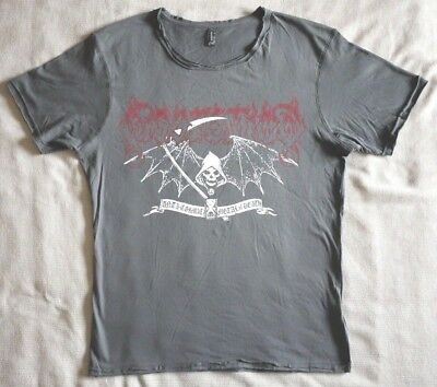 """Dissection official T-shirt """"Reaper"""" grey NEW (L,XL)"""