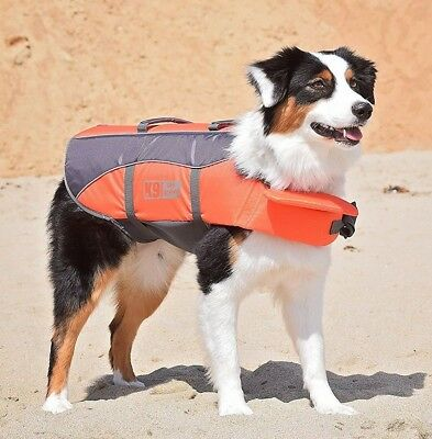 Dog Life Jacket Float Coat, Sizes XS to XL, High Quality, Swim Sailing Safety