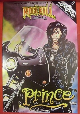 Rock N Roll 21 Revolutionary Comic Prince George Clinton Loren Immonen 1991 Nm
