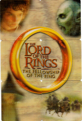 2002 Lord of the Rings ArtBox Action Flipz Lenticular Set 1-60