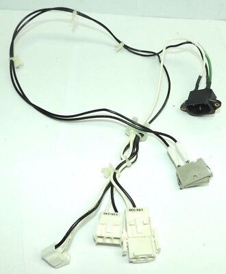 Canon MS 500 Microfilm Scanner Power Harness, Plug and Switch