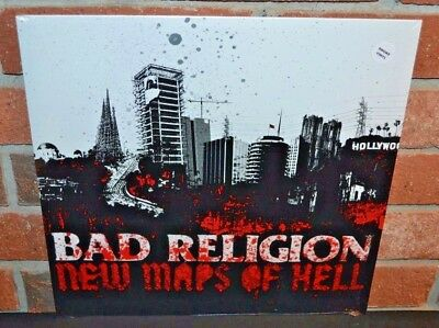 BAD RELIGION - New Maps Of Hell, Limited SMOKE COLORED VINYL New & Sealed!