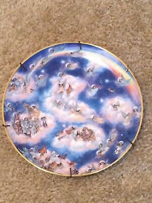 """Franklin Mint """"Heavenly Days"""" By Bill Bell Limited Edition Collectors Plate"""