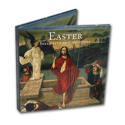 Vatican City 2-Coin + Stamp Easter Collection - SKU#167362