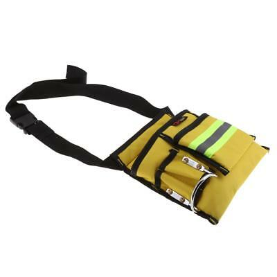 Reflective Electrical Maintenance Tool Pouch Bag Technician Tool Holder #5