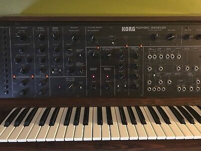 Korg PS-3100, Fully restored professionally, works flawlessly. Synth Holy Grail!