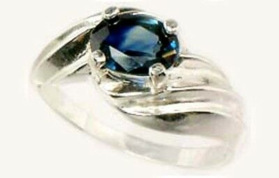 """Antique 19thC 1¼ct Sapphire Medieval Islamic Persian """"Eye of Allah"""" Nader Shah"""