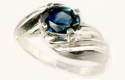 Blue Sapphire Ring 1¼ct Antique 19thC Medieval Islam Persia Allah Eye Nader Shah