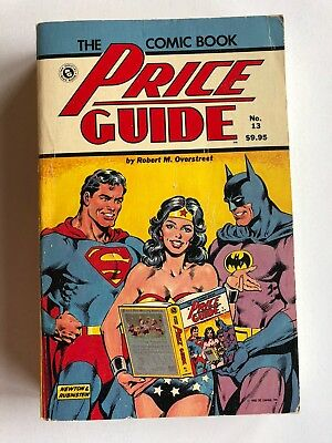 Overstreet Comic Book Price Guide #13 1983 SC (Softcover) VGFN Supes BAtman WW
