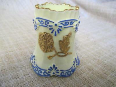 T2 Signed Custard Glass EAPG Northwood Chrysanthemum Sprig Toothpick