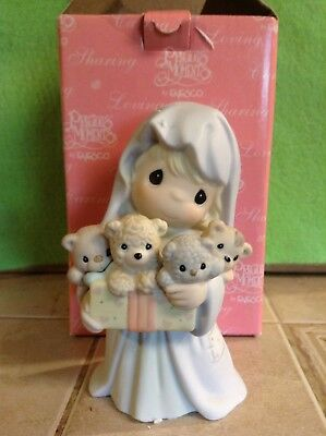 Bearing Gifts Of Great Joy Precious Moments Girl Figurine
