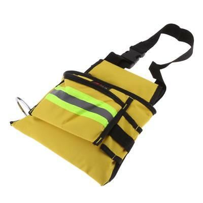 Reflective Tool Bag for Roofer Maintenance Worker Construction Bag Yellow XL
