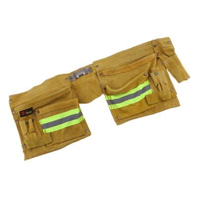 Reflective Tool Bag for Roofer Maintenance Worker Construction 2-Side Yellow