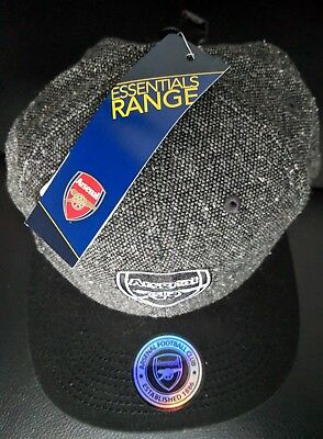 Official Arsenal Football Club Tweed Snapback Adult Cap Brand New