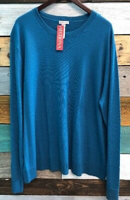 NEW MEN/'S MERONA CREW NECK LIGHT-WEIGHT PULLOVER SWEATER OLIVE GREEN SPECKLED