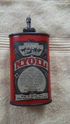 Vintage Nyoil Oil Can ...RARE