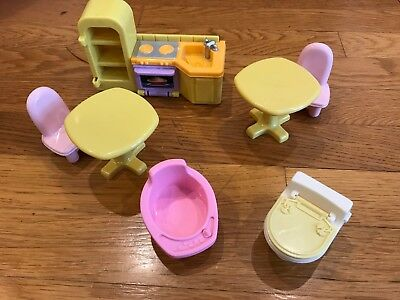 new~ fisher price my first dollhouse replacement furniture - $21.95