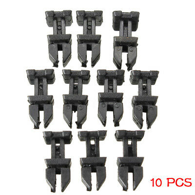 10x Car Door POM Panel Clip Push Retainer For Mercedes Benz W124 R129 W140 W202