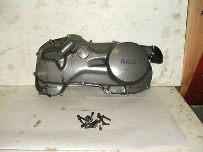 1985 Yamaha Riva XC180 Primary / belt / clutch cover.