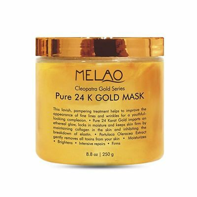 MELAO 24K Gold Facial Mask Anti Aging Care Anti Wrinkle Anti Toxin Anti Acn Z9Y6