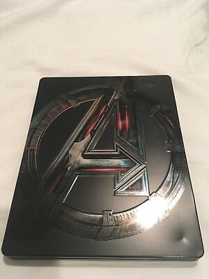Marvel The Avengers Blu-ray Steelbook with Disk in Spanish