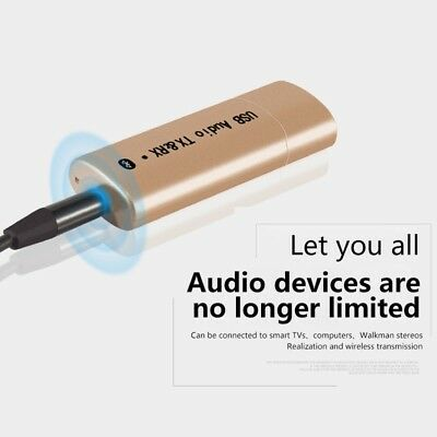 2018 New 2 IN 1 USB Bluetooth Receiver Transmitter YPF04 O9Q4
