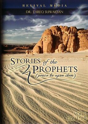 Stories of the Prophets, 20 Audio CDs Set [Tareq Swaidan] English islam quran