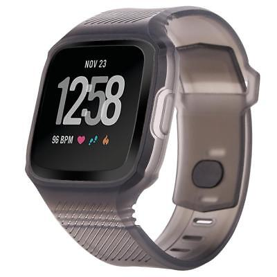 RUGGED BAND WRISTBAND Protective Strap For Fitbit Versa - $10 99