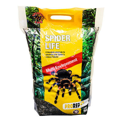 ProRep Spider Life Soil Loam Substrate for tarantulas scorpions