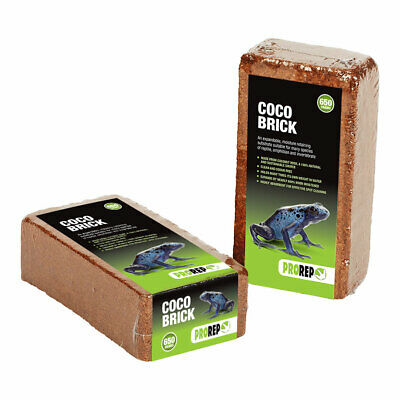 ProRep Coco Bricks Natural Planted Bio Active Coconut fibre Soil